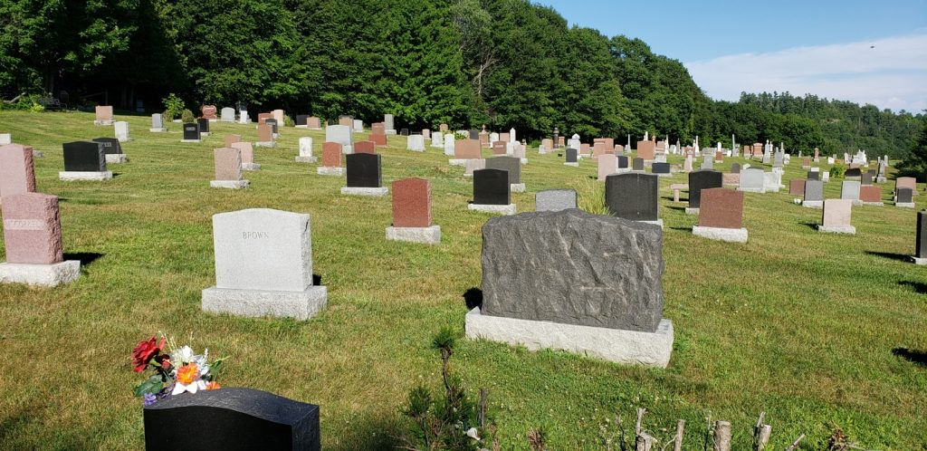Picture of the Hall Cemetery