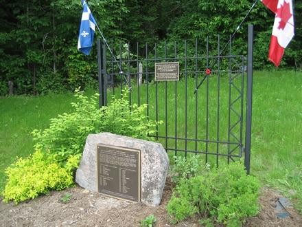 Pioneer plaque at MacLaren